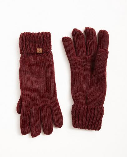 Gants en fin tricot